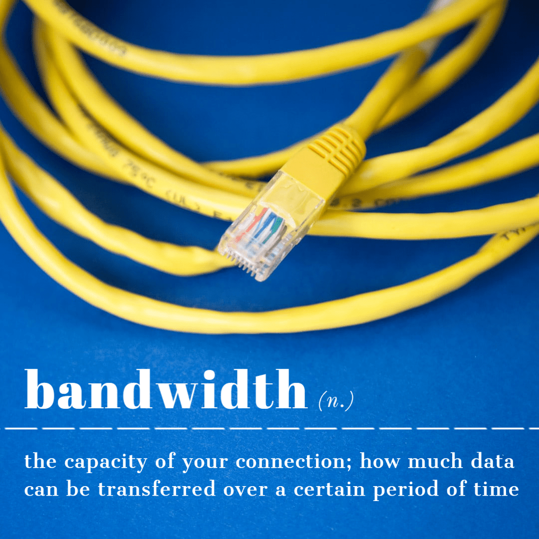 the definition of bandwidth